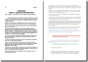 CAA Paris. 7 janvier 2008. Comité d'entreprise de la société DCN LOG
