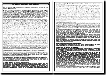 La directive communautaire en droit administratif