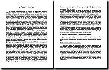 Conseil d'État, 14 juin 2000, Commune de Staffelfelden