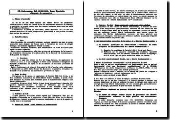Ordonnance de référé du 12 mai 2001 : Dame hyacinthe