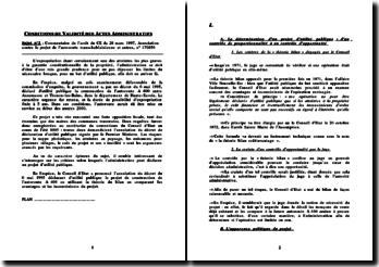 Conseil d'Etat, 28 mars 1997, Association contre le projet de l'autoroute transchablaisienne et autres