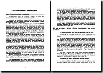 Tribunal des Conflits, 23 février 2004 et Conseil d'Etat, 12 février 2003