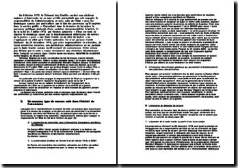 Conseil d'Etat, 2002, Garde des Sceaux, Ministre de la Justice c/ M. Magiera