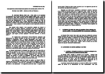 Conseil d'Etat, 6 avril 2007, Commune d'Aix-en-Provence