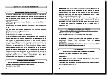 La clause exorbitante dans le contrat administratif