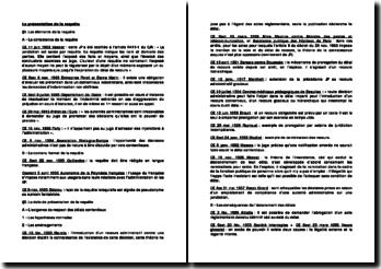 La jurisprudence administrative relative à la présentation de la requête