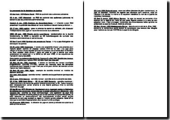 La jurisprudence administrative relative au prononcé de la décision de justice