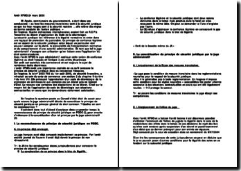 Conseil d'Etat, 24 mars 2006, KPMG