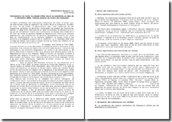 Conseil d'Etat, 11 Décembre 2006, Conseil national de l'ordre des médecins