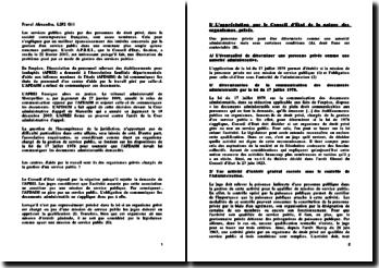 Conseil d'Etat, 22 février 2007, A.P.R.E.I.