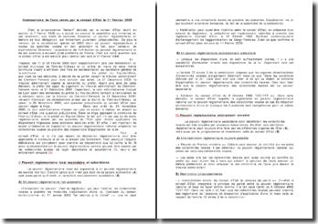 Conseil d'Etat, Avis, 1er Février 2006 - 'Péfet du Puy de Dôme'