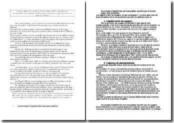 Conseil d'Etat de section, 29 décembre 1997, commune de Gennevilliers et commune de Nanterre