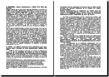 Résumé d'articles de doctrine sur le thème du déclin de la spécificité du droit administratif