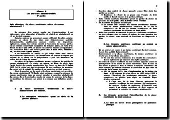 La clause exorbitante, critère du contrat administratif ?