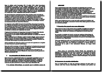 Conseil d'Etat, 30 juin 1950, Sieur Quéralt