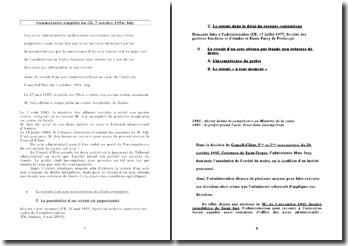 Conseil d'Etat, 7 octobre 1994, Joly