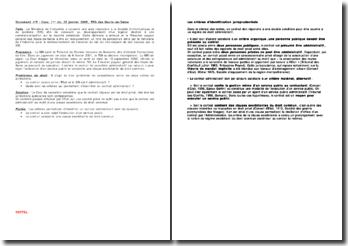 Conseil d'Etat, TPG des Hauts-de-Seine, 25 janvier 2005