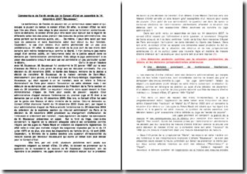 Conseil d'Etat, 14 décembre 2007, Boussouar