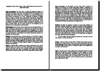 Conseil d'Etat, 3 Mars 1989, Société des autoroutes de la région Rhône Alpes