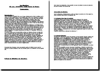Conseil d'Etat, 11 décembre 1970, Crédit foncier de France