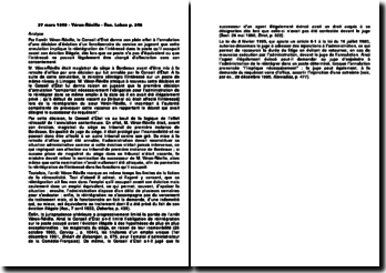Conseil d'Etat, 27 mars 1949, Véron-Réville
