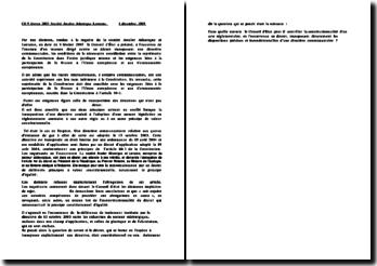 Conseil d'Etat, 8 février 2007, Société Arcelor Atlantique Lorraine