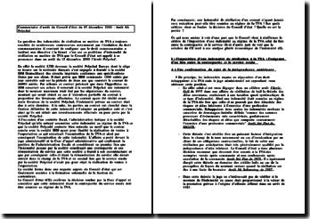 Conseil d'Etat, 15 décembre 2000, SA Polyclad