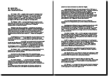 Récapitulatifs des arrêts de Droit Administratif L2 semestre 2