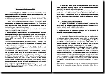 Conseil d'Etat, 19 Octobre 1956, Société Le Béton