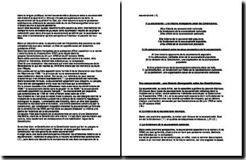 Souveraineté dans les constitutions françaises