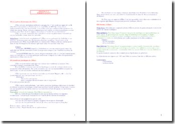 Les formes d'Etat selon la conception historique et les conditions juridiques