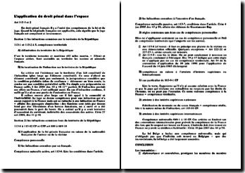 L'application de la loi pénale dans le temps (version 2)