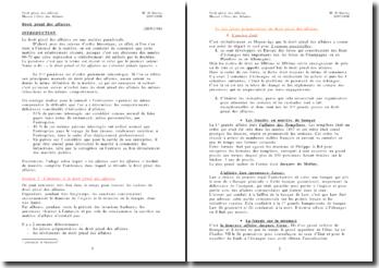 Droit pénal des affaires - Histoire, définition et particularismes