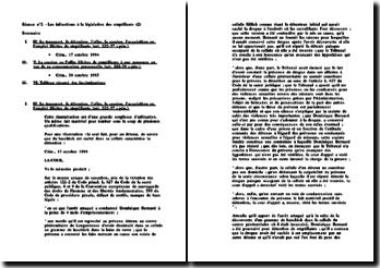 Les infractions à la législation des stupéfiants (2)