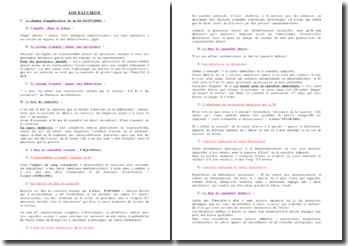 Les apports de la loi fauchon du 10 Juillet 2000