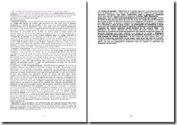 Le délit d'abus de biens sociaux (Code de Commerce et non Code Pénal)