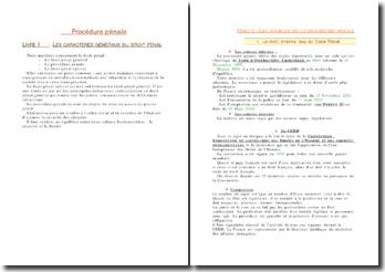 Procèdure pénale (version 2)