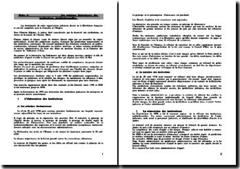Les origines historiques du Droit Pénal
