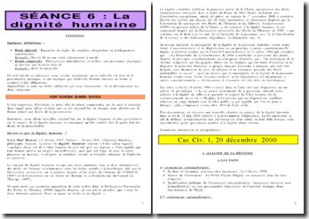 Cass. 1ère civ. 20 décembre 2000 Préfet Erignac