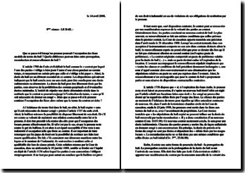 Le terme du contrat de bail - prorogation, reconduction ou renouvellement
