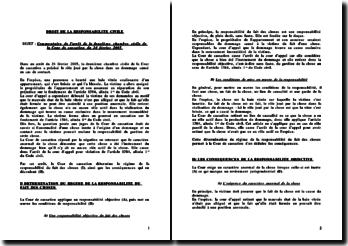 Cass. 2ème Civ. 24 Février 2005