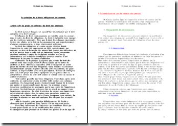 L'article 136 de l'avant projet Catala