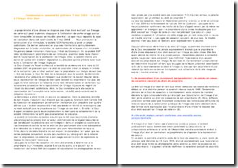 Commentaire d'arrêt : Cassation Ass. 7 mai 2004 - le droit à l'image d'un bien
