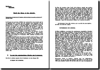Cass. 1ère civ. 1er décembre 1964