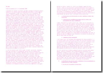 Cassation 1ère Civ. 12 novembre 1998