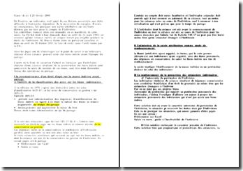 Arrêt Civ 1ere 20 février 2001