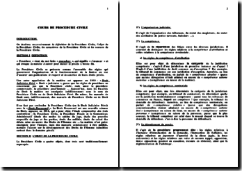 Procédure Civile (version 3)