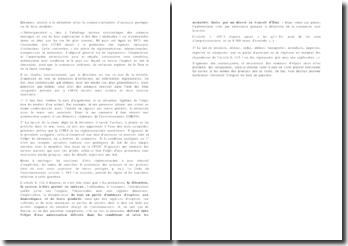 Eléments relatifs à la détention et/ou la commercialisation d'animaux protégés ou de leurs produits