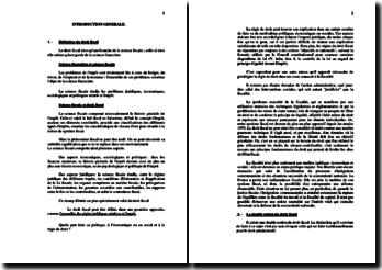 Finances publiques et droit fiscal (version 3)