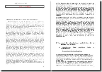 Cassation 1ère Civ. 17 février 2004